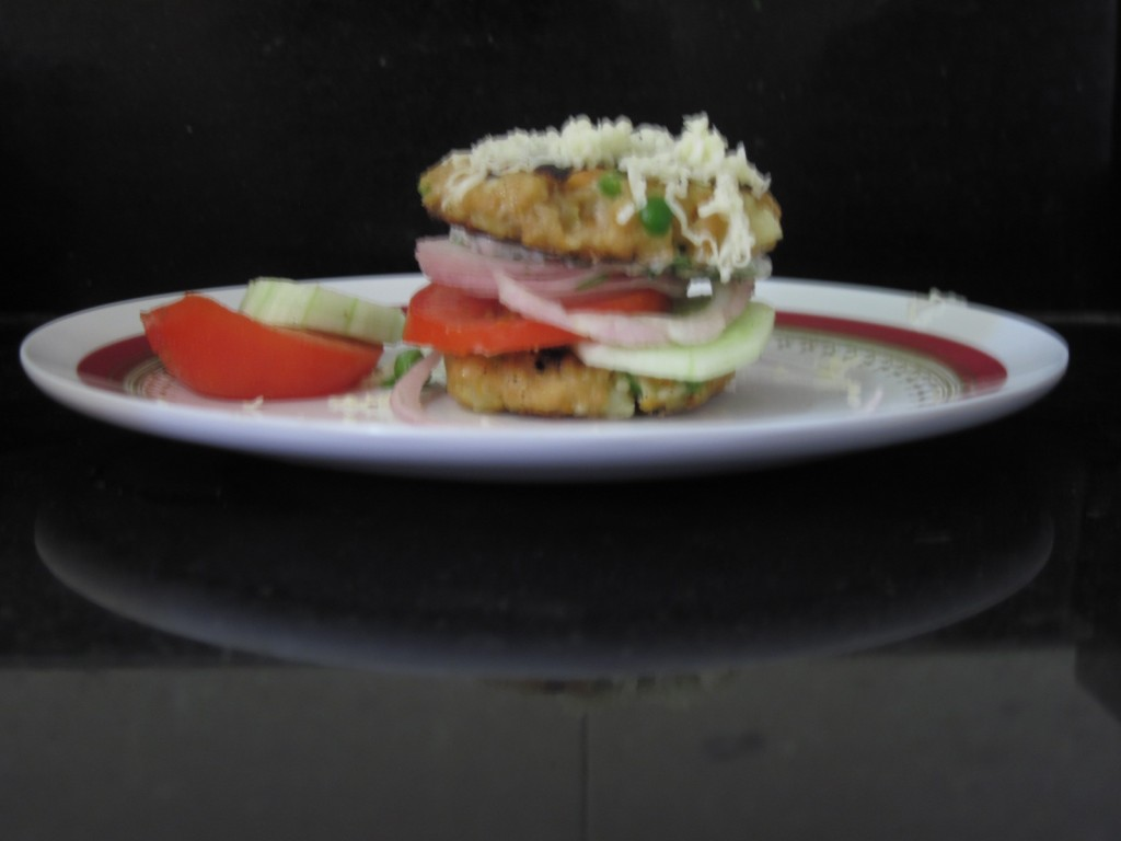 Soya Vegetable Burger