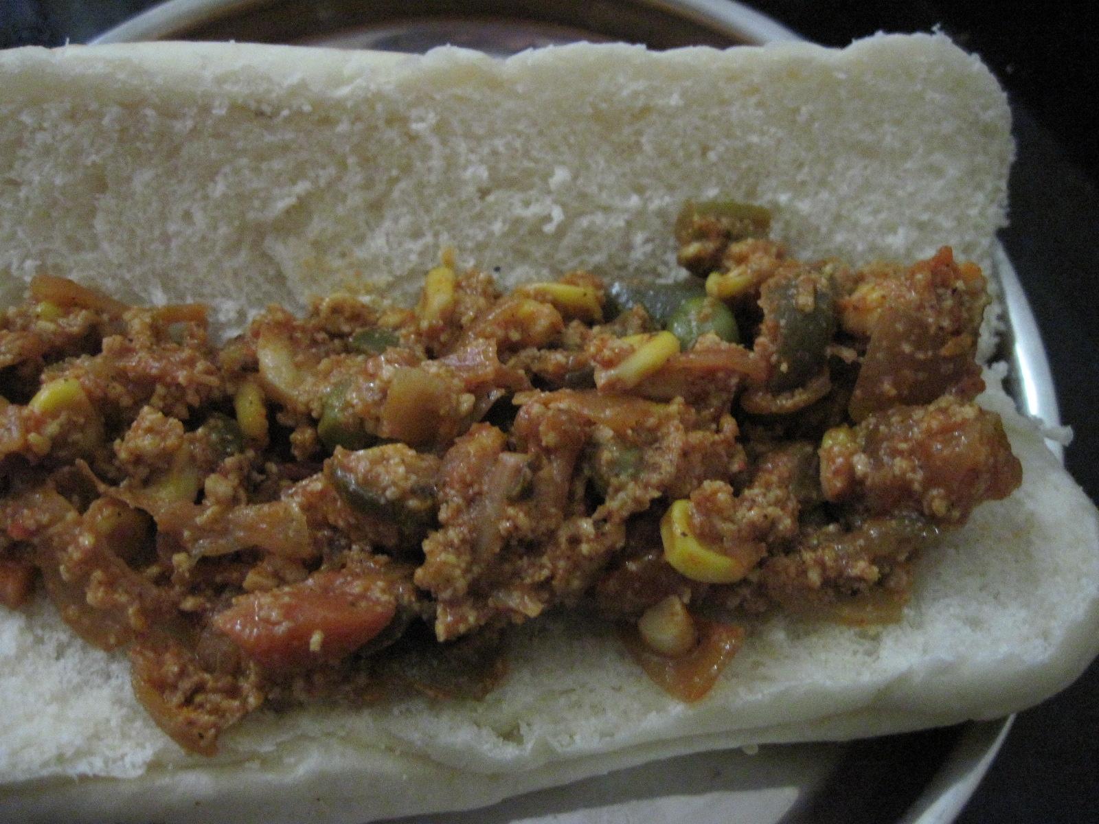 Very Veggie Paneer Bhurji – sloppy spicy scramble