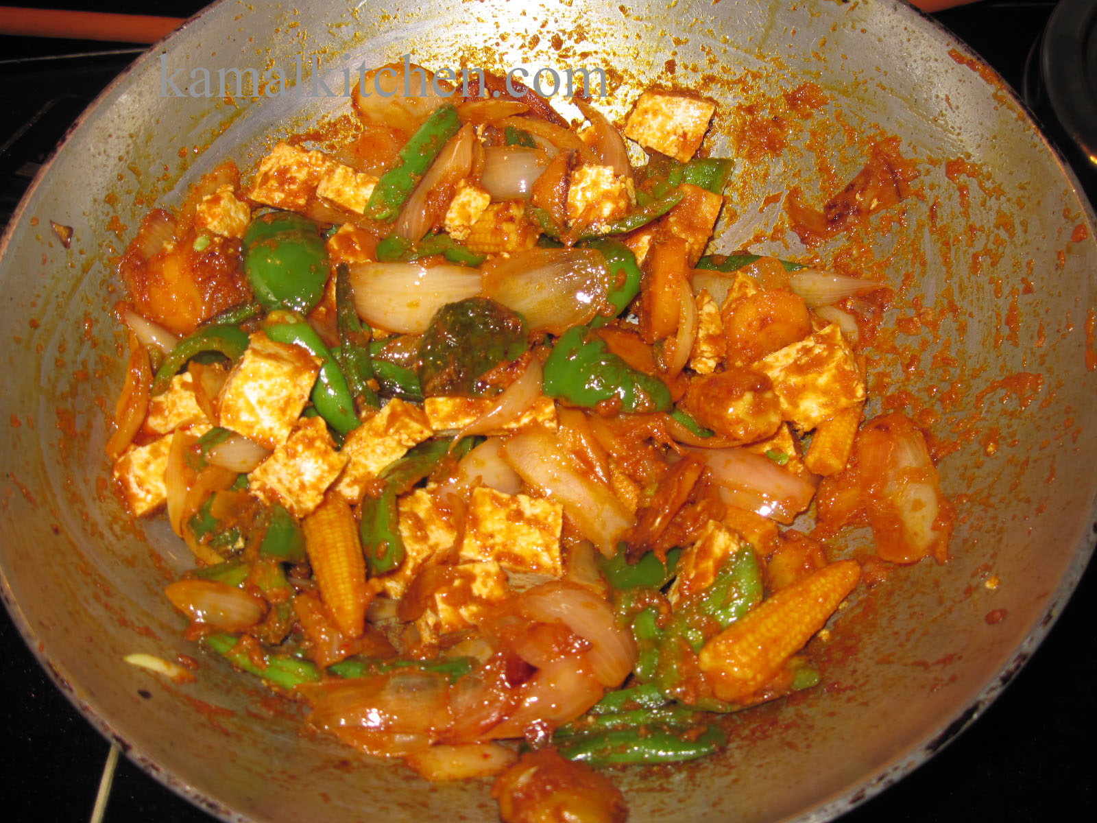 Thai Red Curry – with Tofu and Vegetables