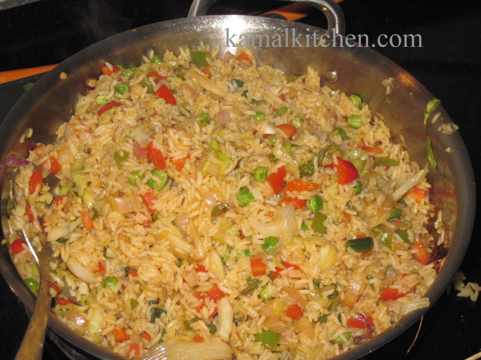 Vegetable Fried Rice – quick and easy homemade chinese