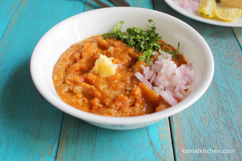 Pav Bhaji -homemade yet streetwise