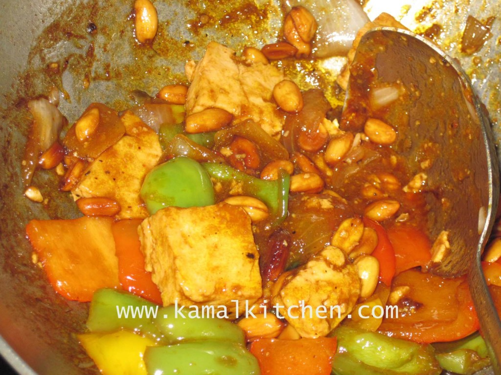 Mango Chili stir fry recipe