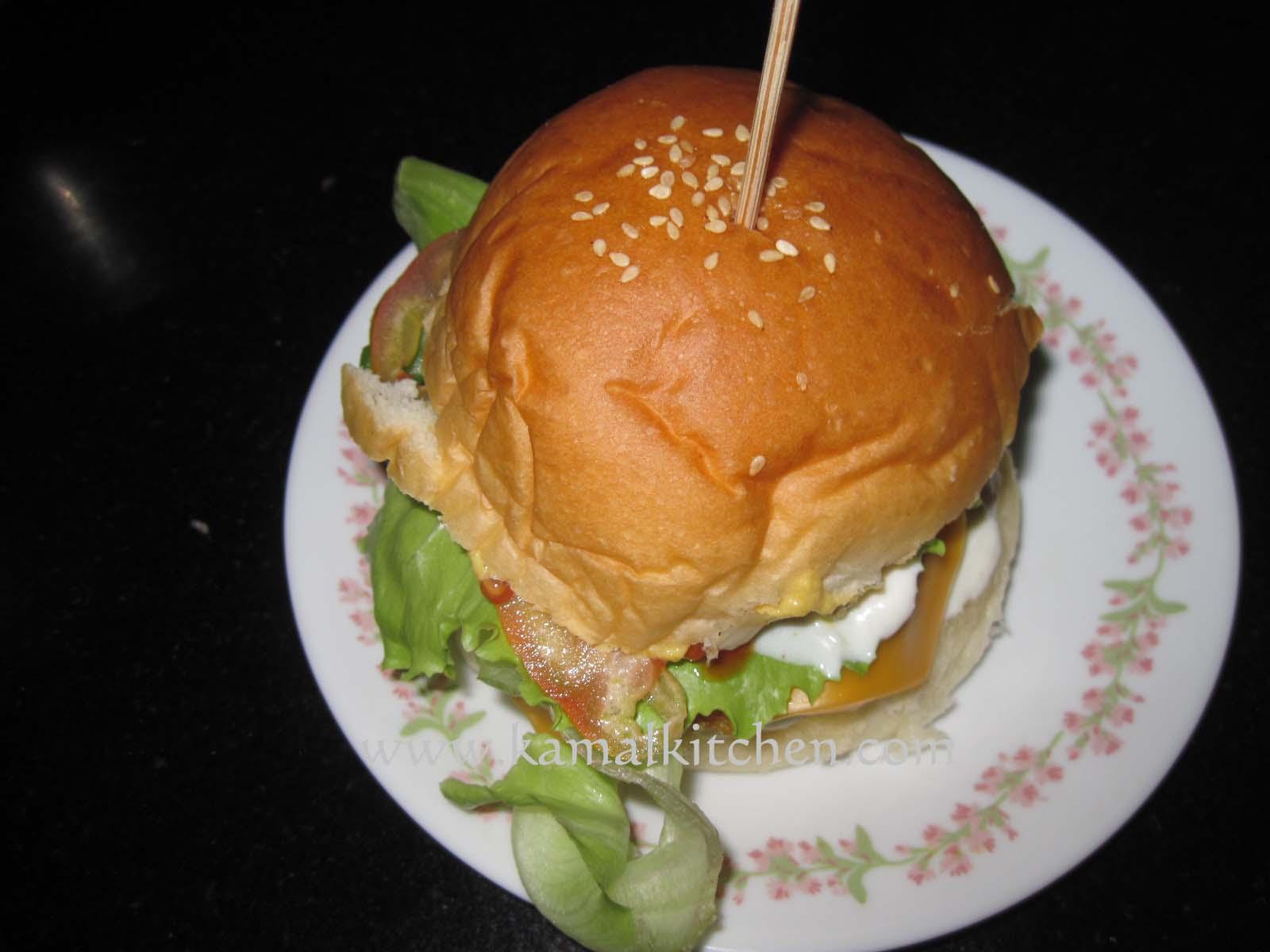 Tofu Mushroom Burger Recipe