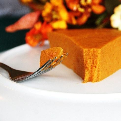 Crustless-No-Bake-Pumpkin-Chiffon-Pie