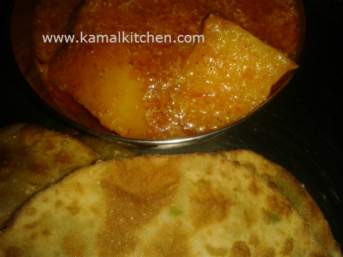 Bengali Green Peas Kachori Recipe