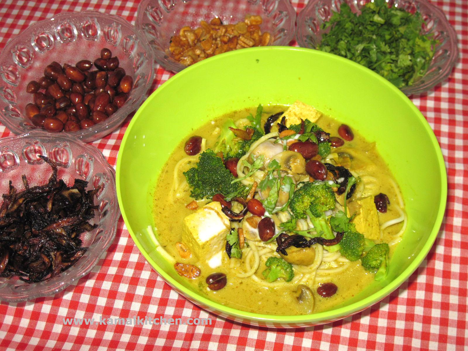 Khao Soi Recipe – Burmese/ North Thai Noodle Soup
