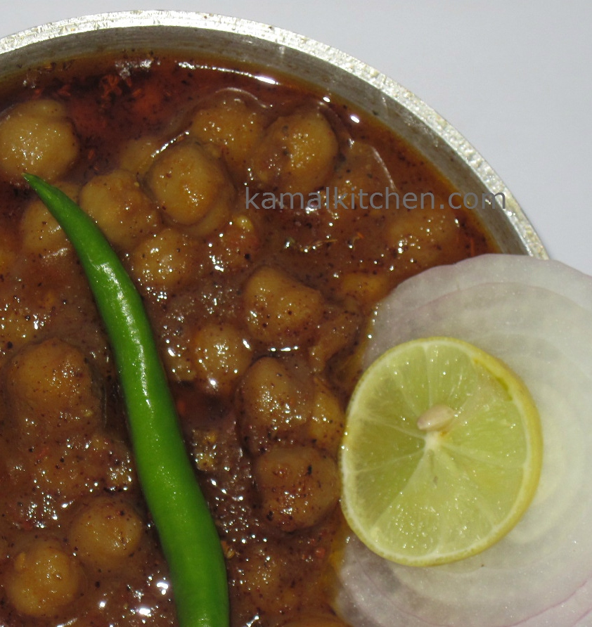 Chana Masala or Chole recipe – Indian Chickpea Curry