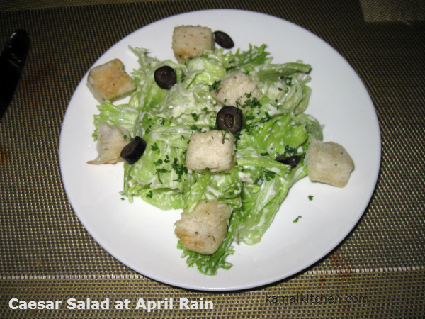 Caesar Salad April Rain Pune