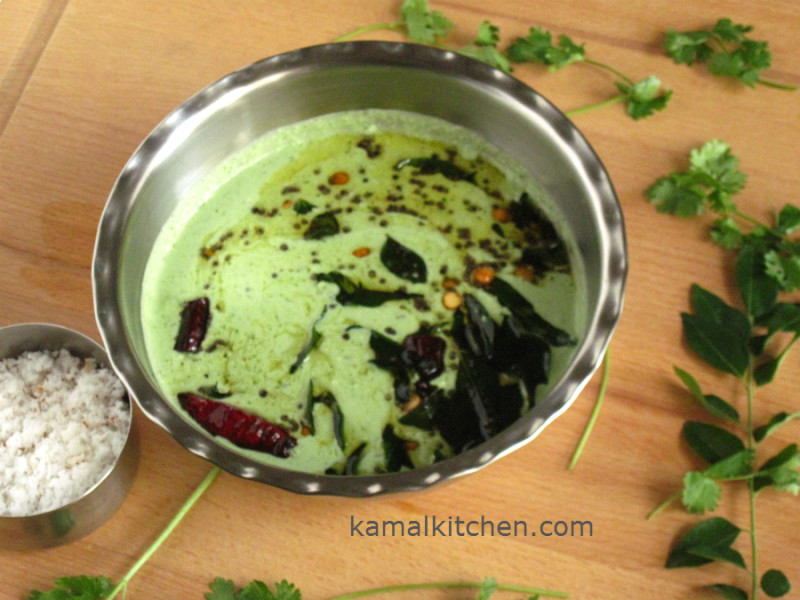 Fresh Coconut Chutney Recipe