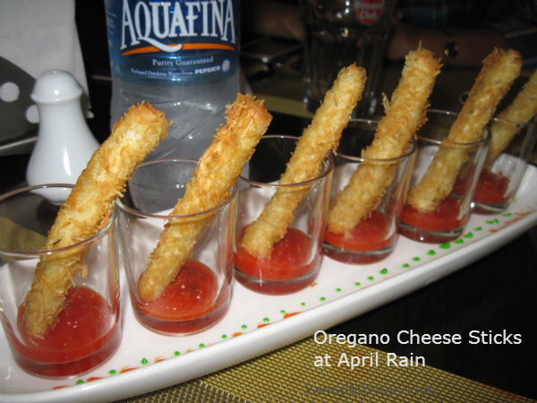 Oregano Cheese Sticks April Rain Pune