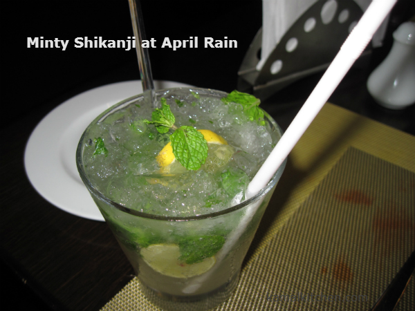Shikanji at April Rain Pune