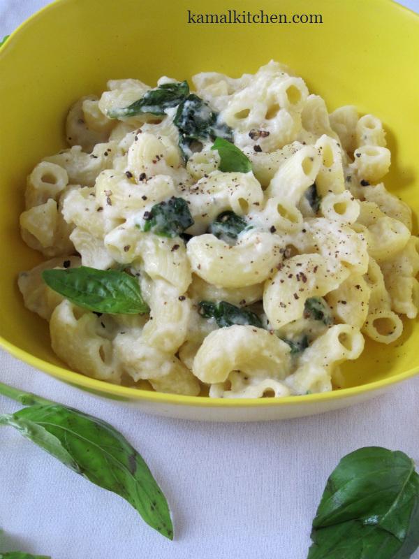 Creamy Cauliflower Sauce Pasta