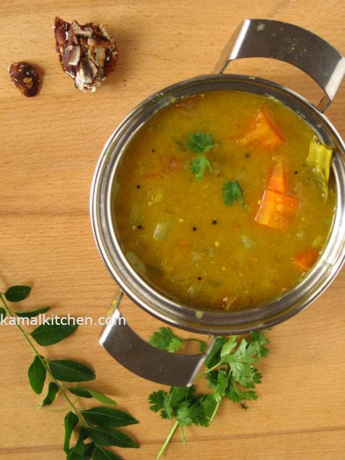 Sambar - South Indian Vegetable Stew Recipe
