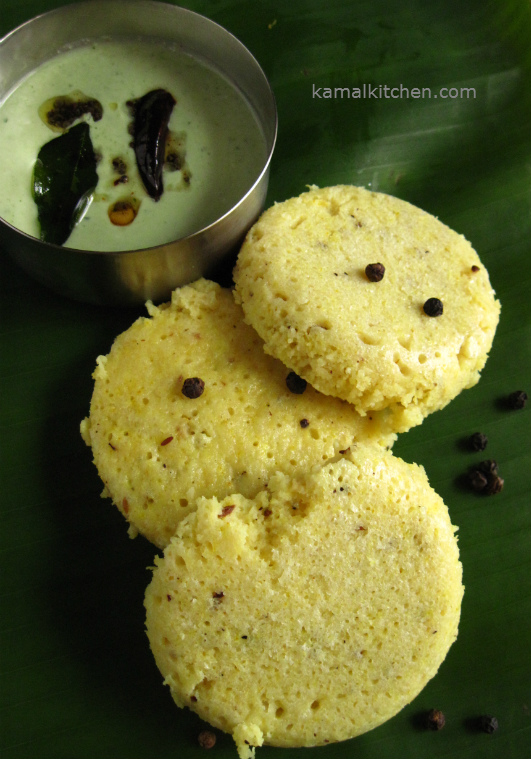 Kanchipuram Idli brunch