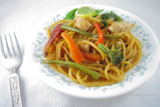 Drunken Noodles – Vegan Pad Kee Mao Recipe