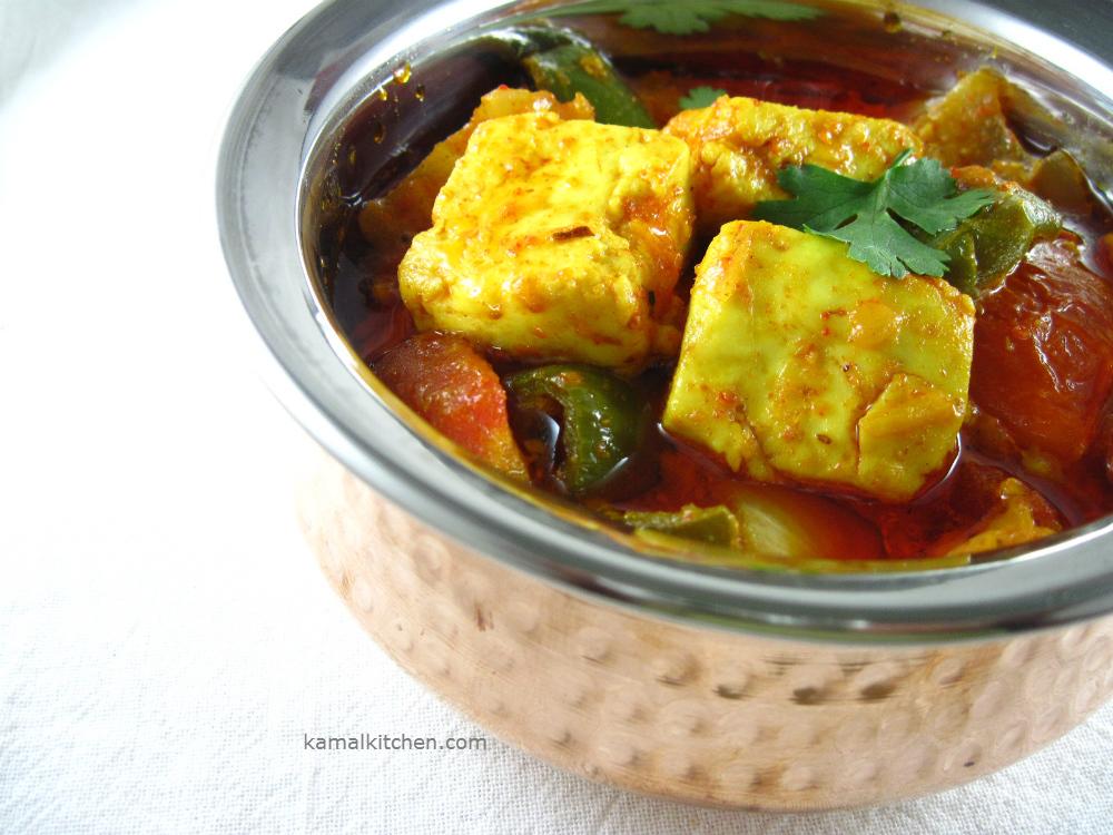 Achari Paneer – Exotic Indian Pickle Sauce Recipe