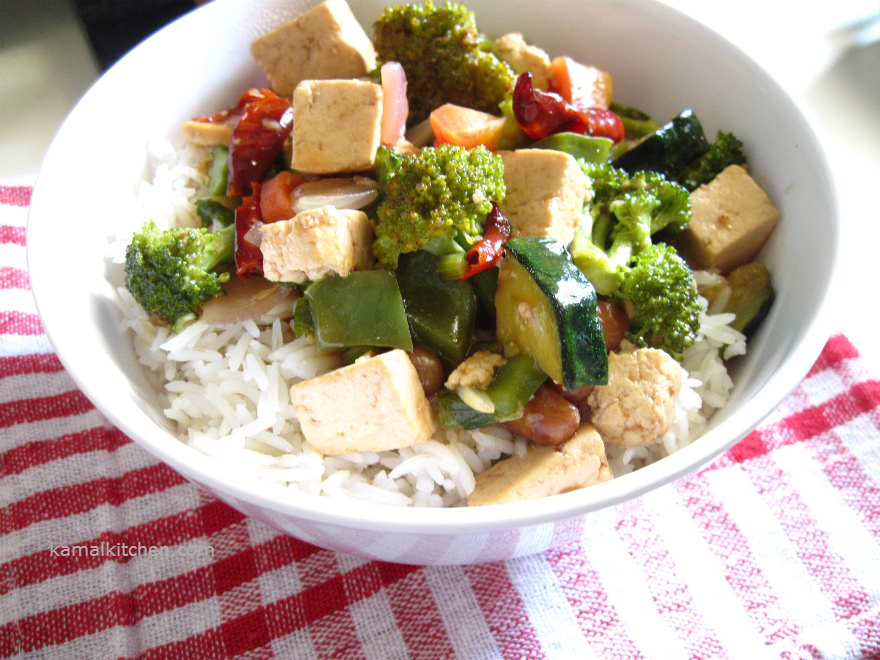 Kung Pao Tofu – Chinese Dinner