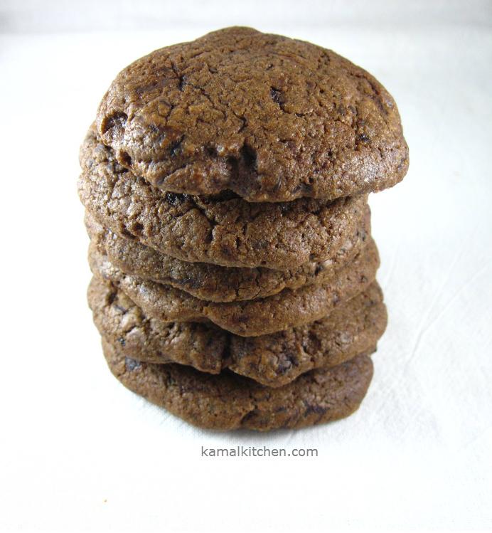 Mocha Chocolate Chip cookies