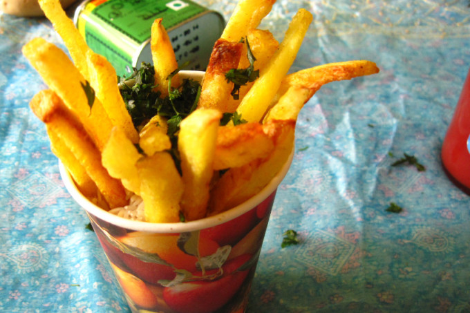 Oven Baked Fries – Baked Curry Seasoned Fries