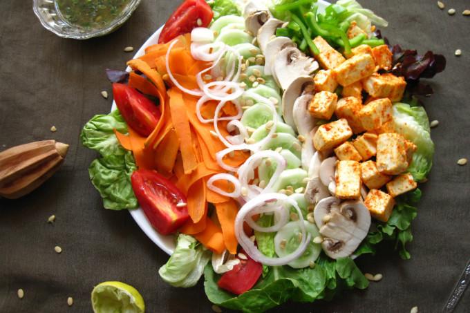 The BIG SALAD – Summer time is salad time!