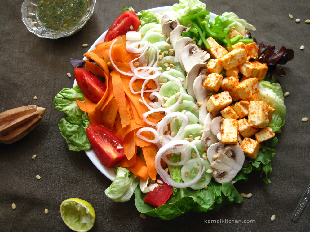 The BIG SALAD – Summer time is salad time!