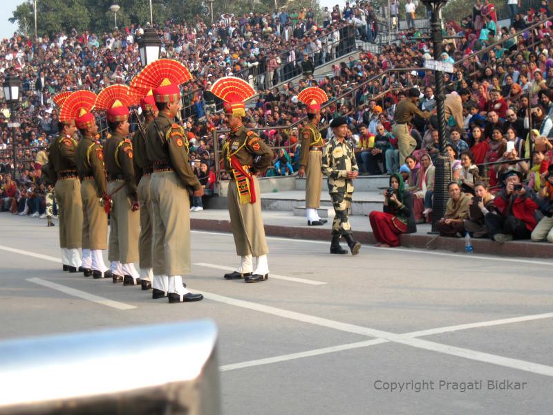 Wagah Border Ceremony 1