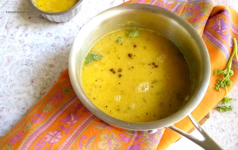 Chincha GuLachi AamTi – Tamarind Daal Recipe