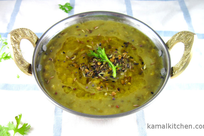 Green Daal with Panch Phoran – Aromatic Daal Recipe