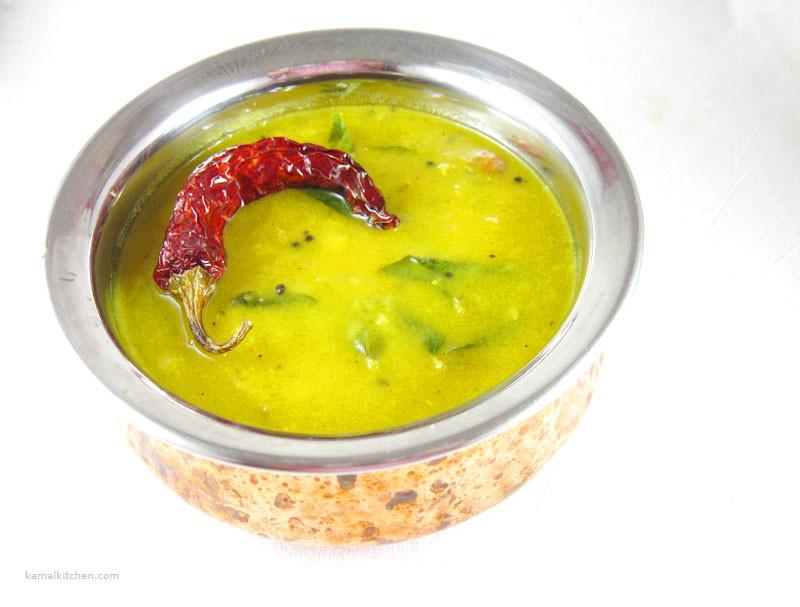 Masoor daal with Onion