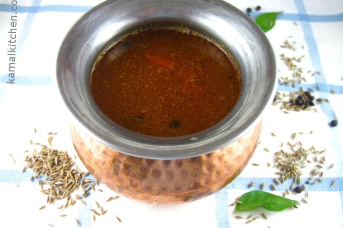 Milagu Rasam – Black Pepper and Daal Soup