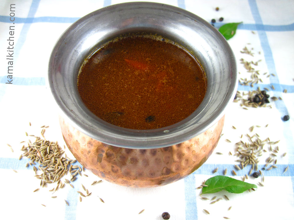 Milagu Rasam – Black Pepper and Daal Soup
