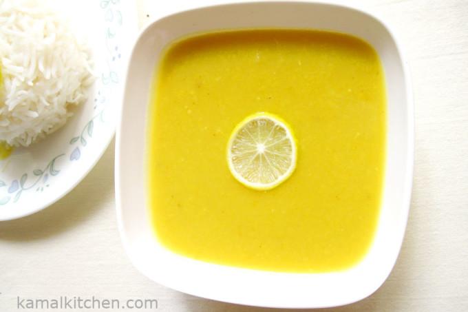 Maharashtrian Plain Daal Recipe – Saadha VaraN