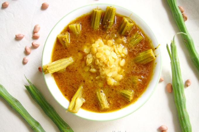 Shevgyacha KaalvaN – Drumsticks Daal Recipe
