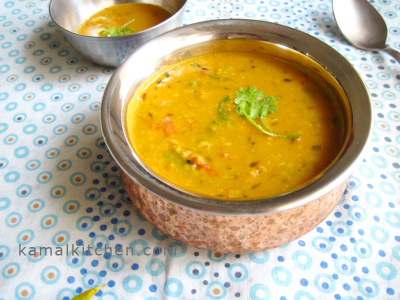 Tomato Daal 1