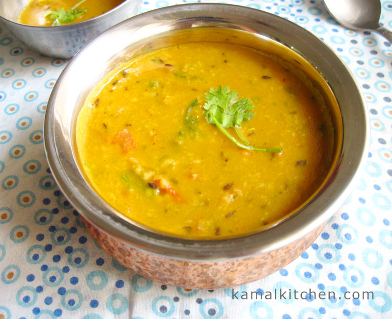 Tomato Daal – Indian Daal Recipe with Tomato and Cumin