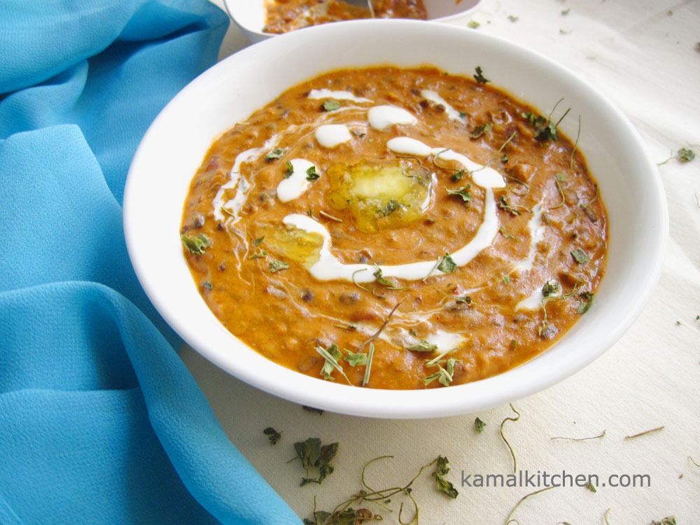 Dal Makhni – Restaurant Style Dal Makhni Recipe