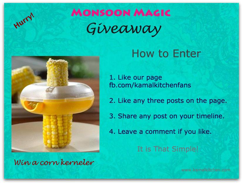Monsoon Magic Giveaway