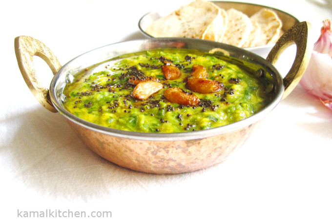 Methi Daal Recipe – Fenugreek greens