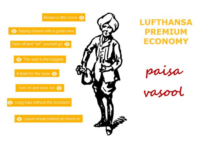 Fly 'Paisa Vasool' with Lufthansa Premium Economy