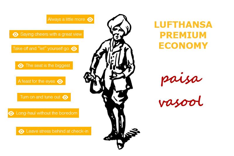 Lufthansa premium Economy