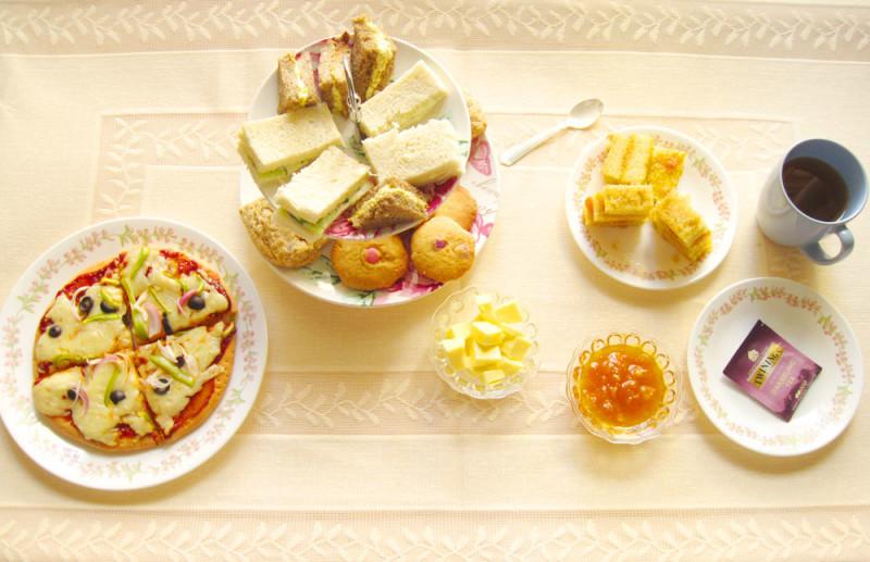 English tea, afternoon tea, cream tea, high tea