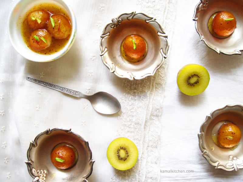 Kiwifruit Gulab Jamun 1