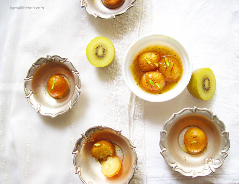 Kiwifruit Gulab Jamun