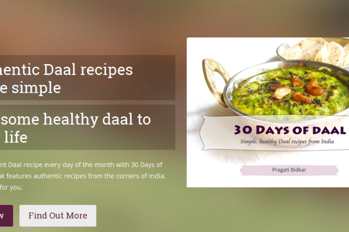 30 Days of Daal eBook is Live