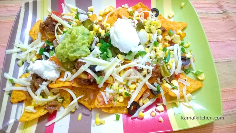 7 Layer nachos