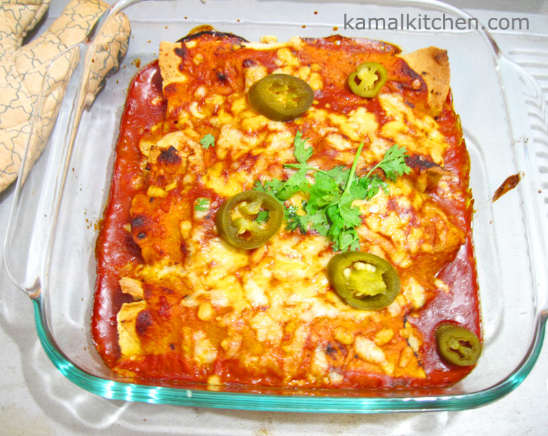 Spinach Enchilada 1