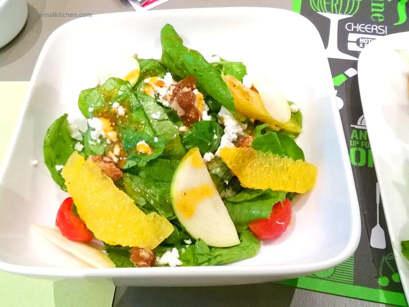 212 All Day - Spiced Arugula and Feta salad