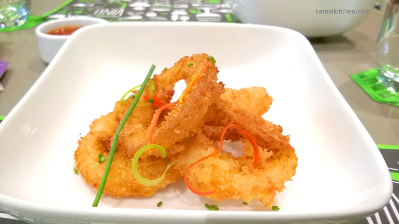 212 All Day - Beer battered onion rings