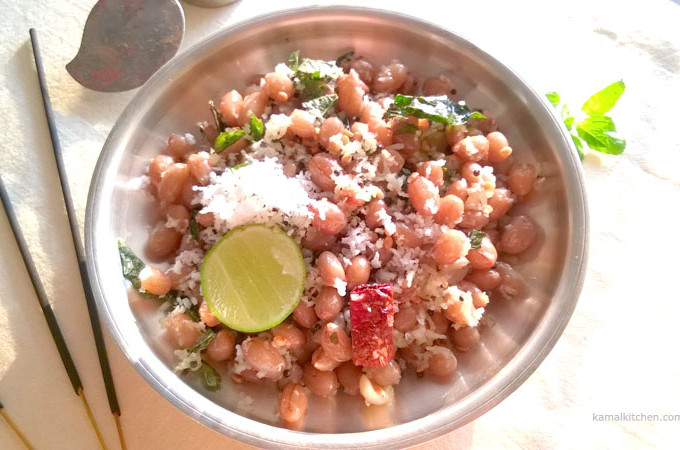 Peanut Sundal – No Onion No Garlic Recipe [Vegan]
