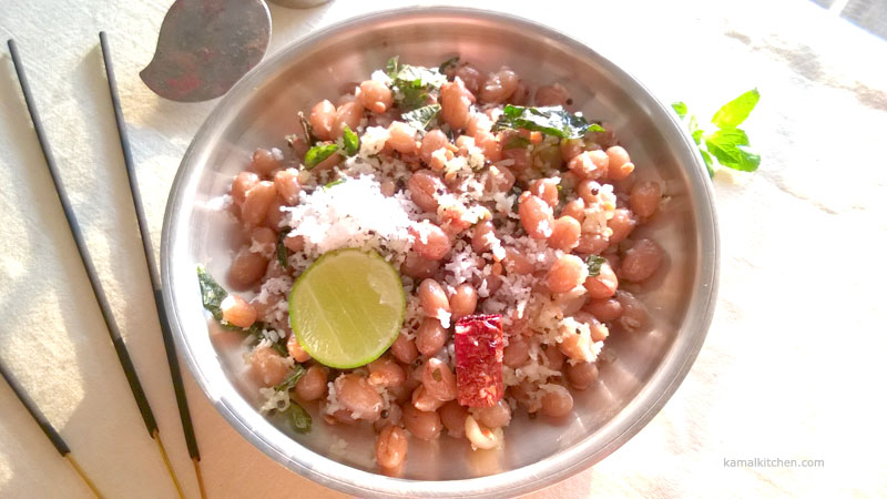no onion no garlic sundal recipe